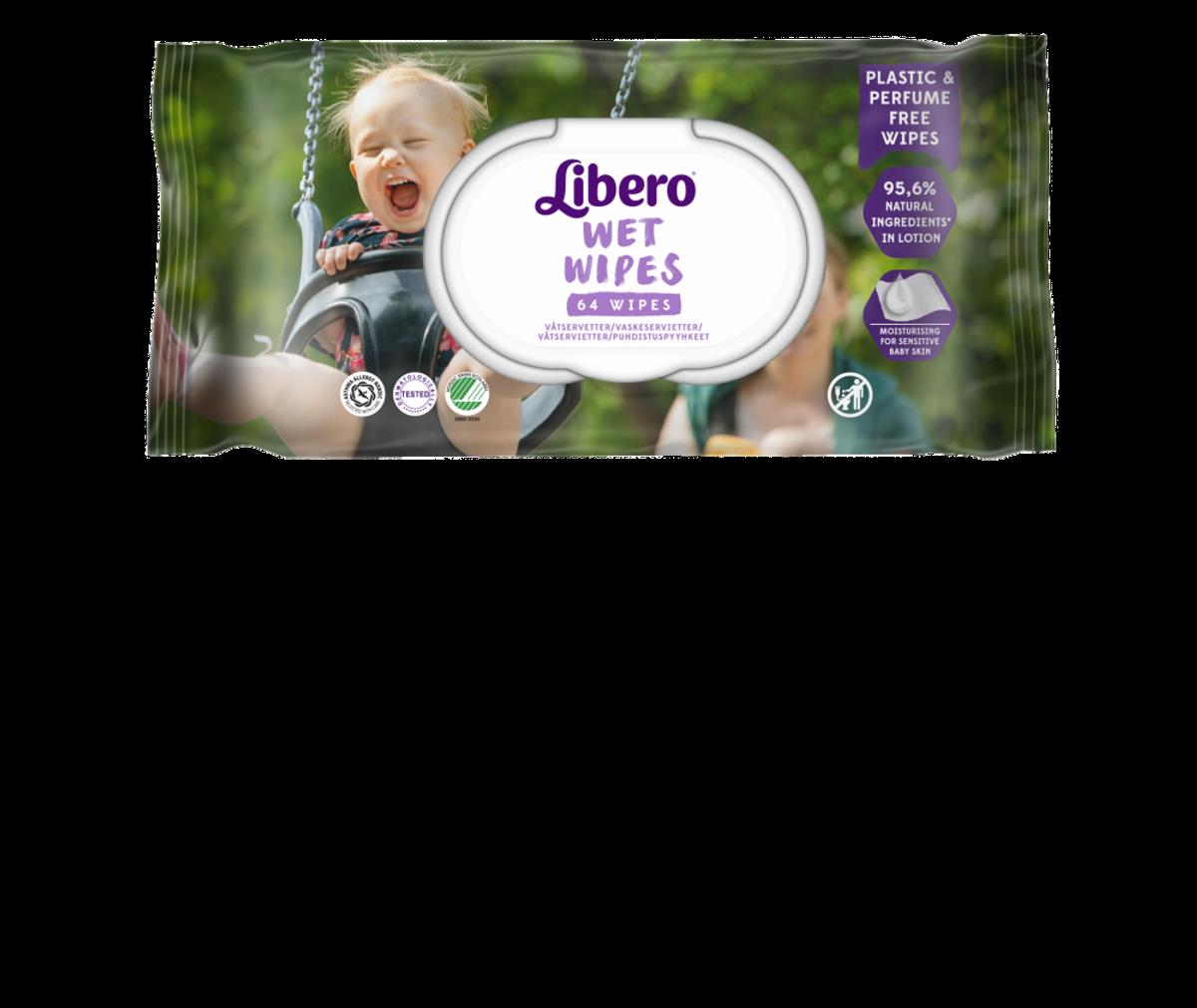 Libero Wet Wipes | 64stk.